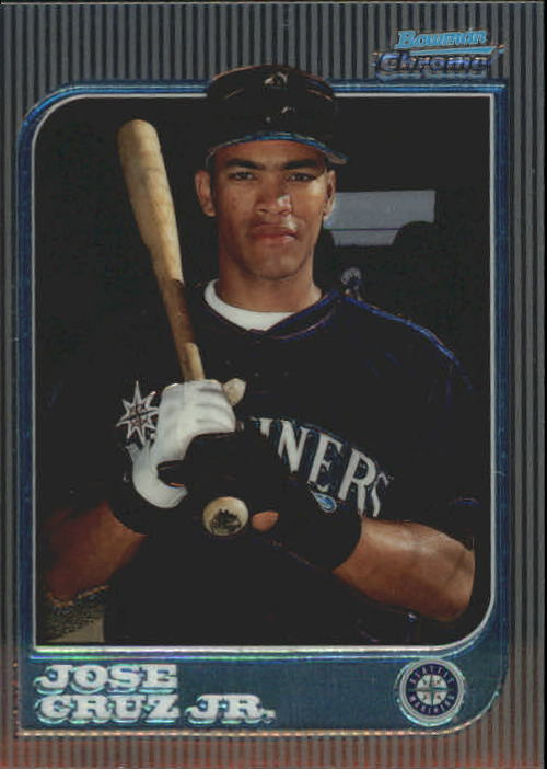 1997 Bowman Chrome #122 Jose Cruz Jr. RC