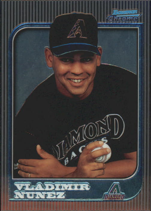 1997 Bowman Chrome #154 Vladimir Nunez RC