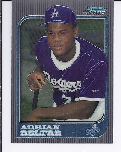 1997 Bowman Chrome #182 Adrian Beltre RC