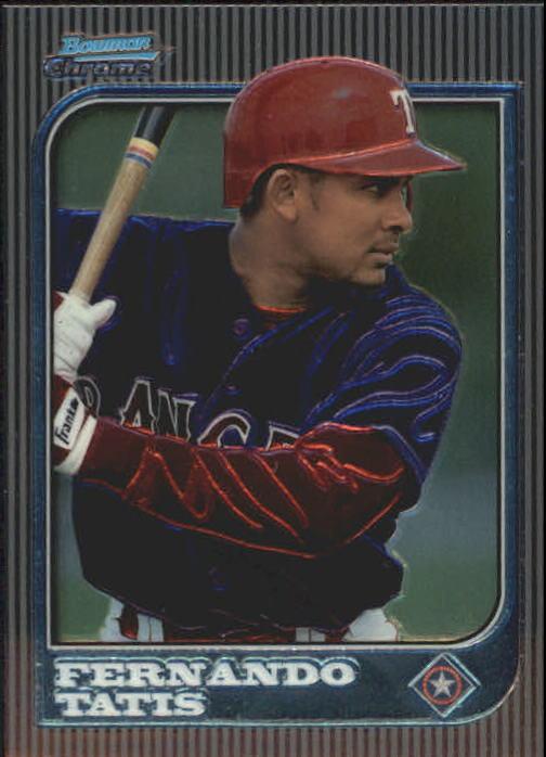 1997 Bowman Chrome #185 Fernando Tatis RC