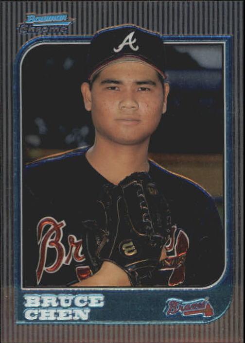 1997 Bowman Chrome #194 Bruce Chen RC