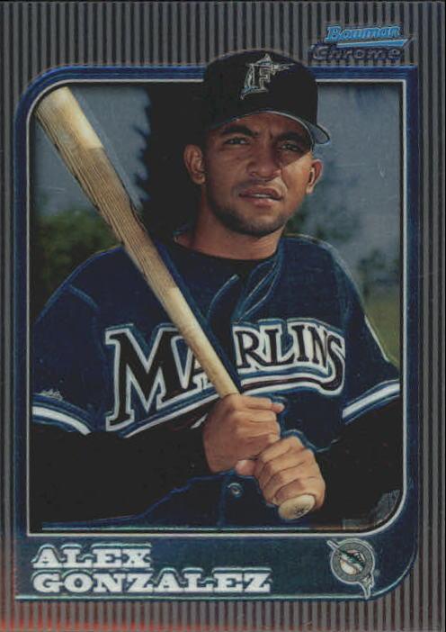 1997 Bowman Chrome #206 Alex Gonzalez RC