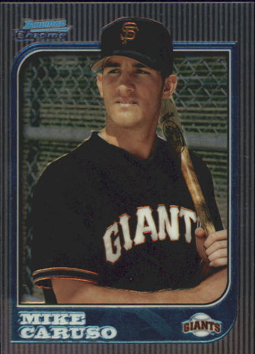 1997 Bowman Chrome #211 Mike Caruso RC
