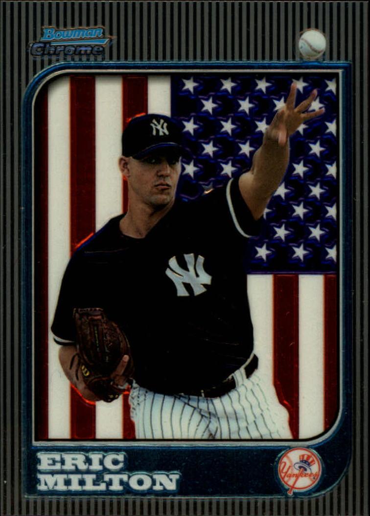 1997 Bowman Chrome International #157 Eric Milton