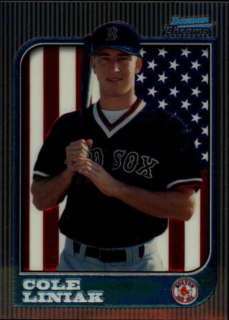 1997 Bowman Chrome International #277 Cole Liniak