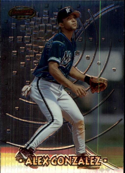 1997 Bowman's Best #104 Alex Gonzalez RC