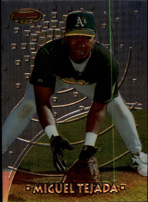 1997 Bowman's Best #114 Miguel Tejada RC