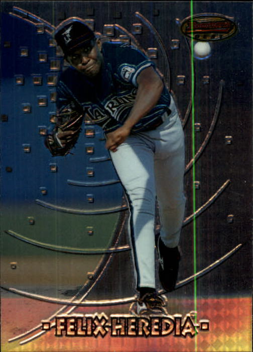1997 Bowman's Best #124 Felix Heredia RC