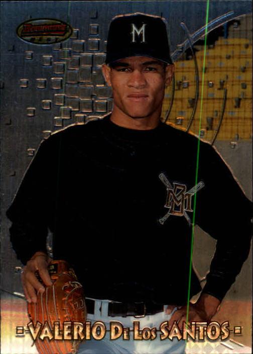 1997 Bowman's Best #179 Valerio De Los Santos RC