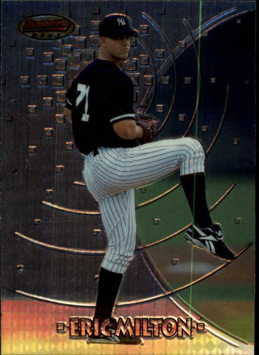 1997 Bowman's Best #198 Eric Milton RC