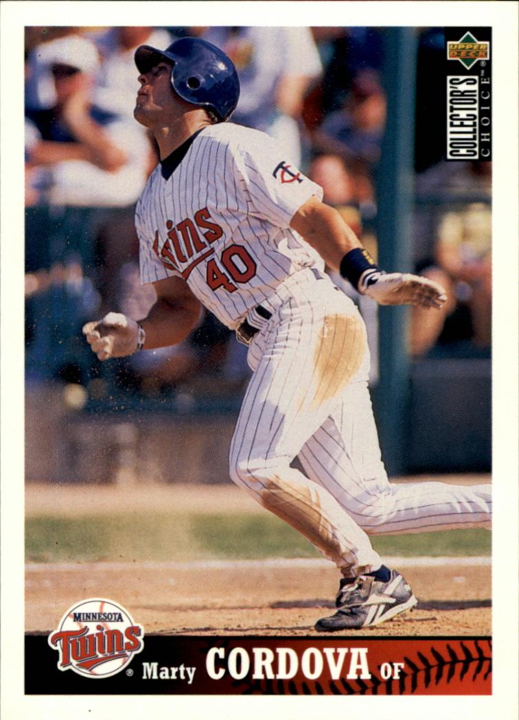 1997 Collector's Choice #154 Marty Cordova