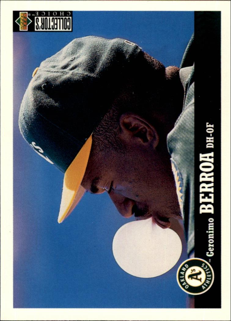 1997 Collector's Choice #185 Geronimo Berroa