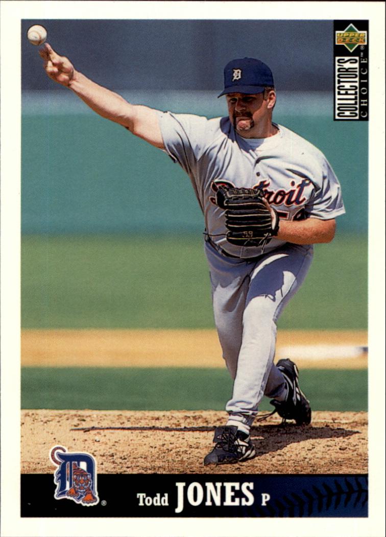 1997 Collector's Choice #324 Todd Jones