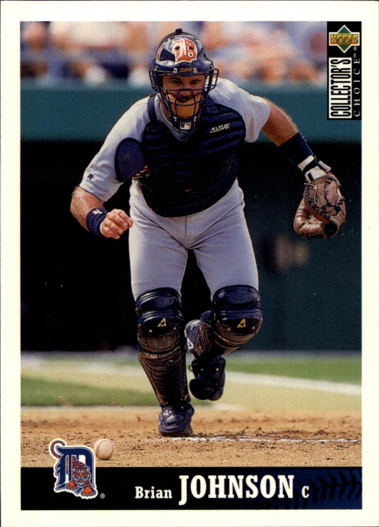 1997 Collector's Choice #336 Brian Johnson