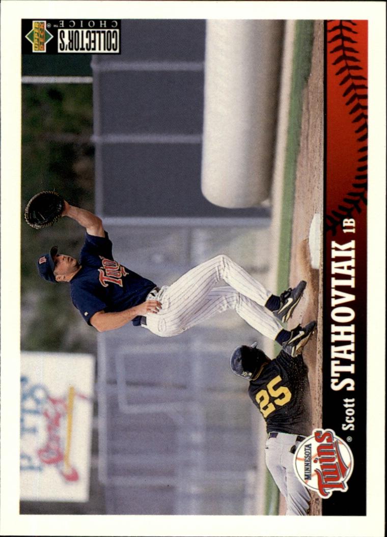 1997 Collector's Choice #383 Scott Stahoviak