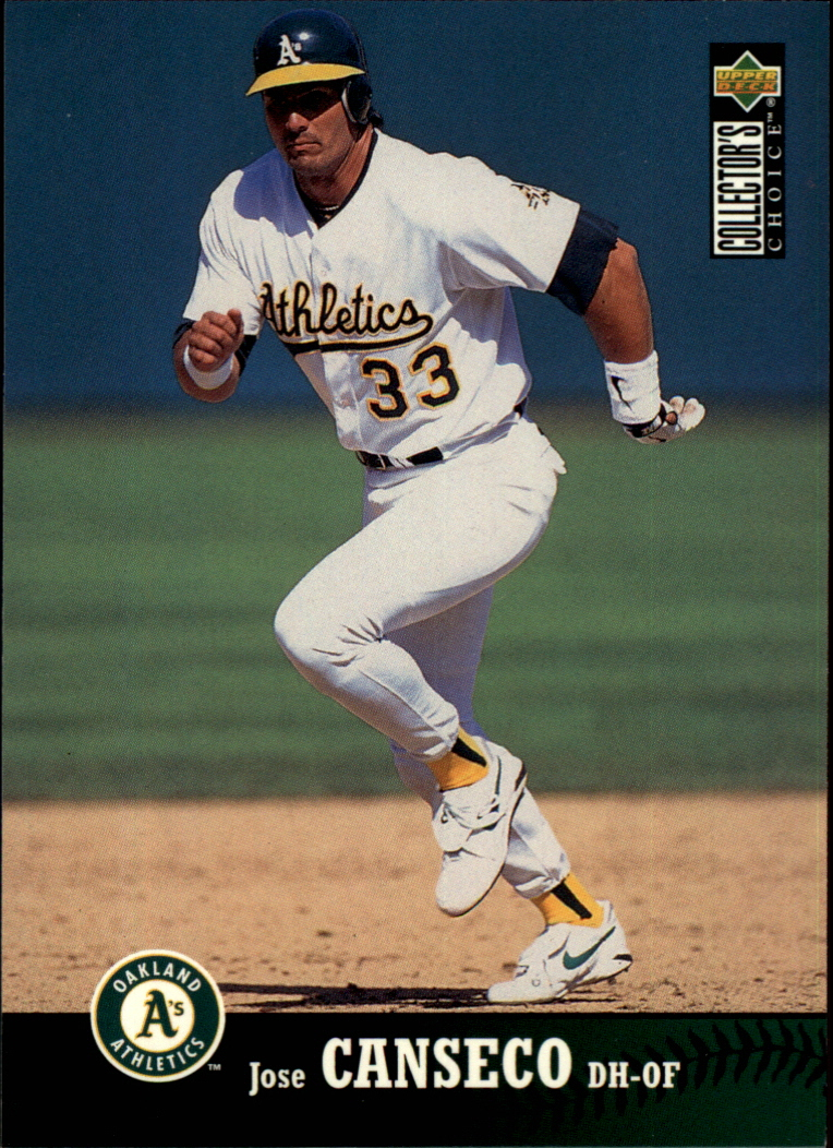 1997 Collector's Choice #410 Jose Canseco