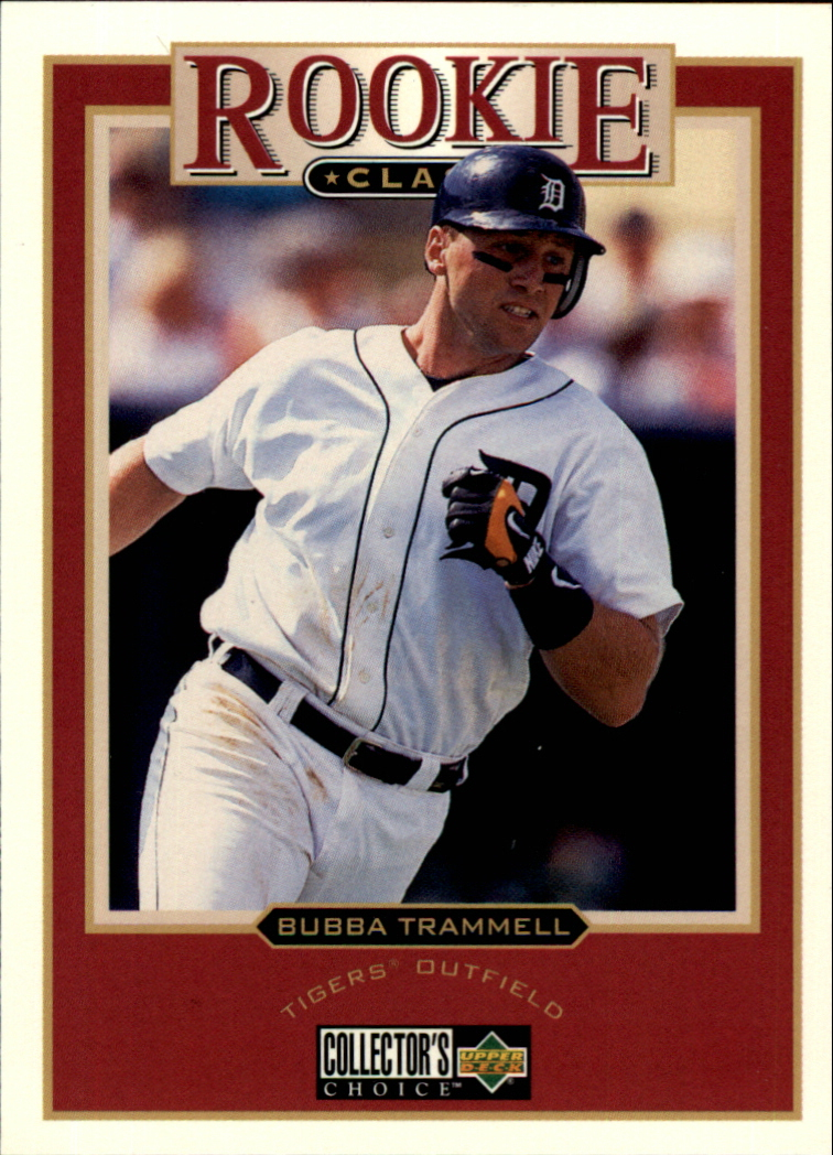 1997 Collector's Choice #468 Bubba Trammell RC