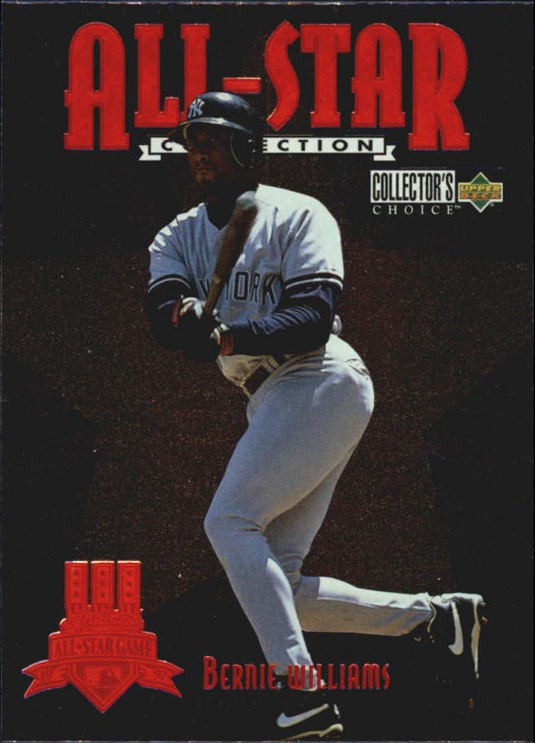 1997 Collector's Choice All-Star Connection #16 Bernie Williams