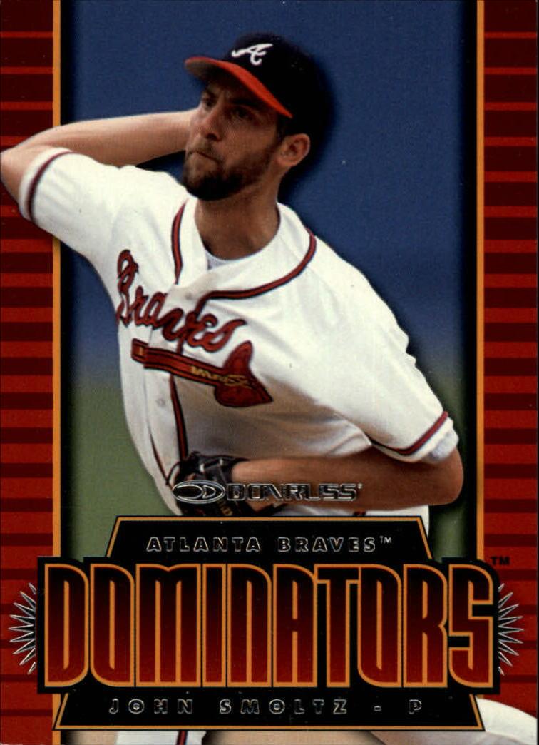 1997 Donruss Dominators #12 John Smoltz