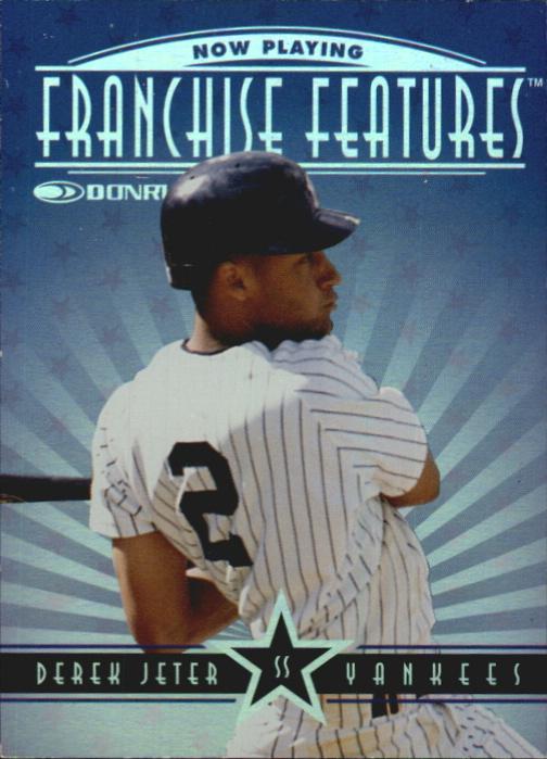 1997 Donruss Franchise Features #14 D.Jeter/P.Reese