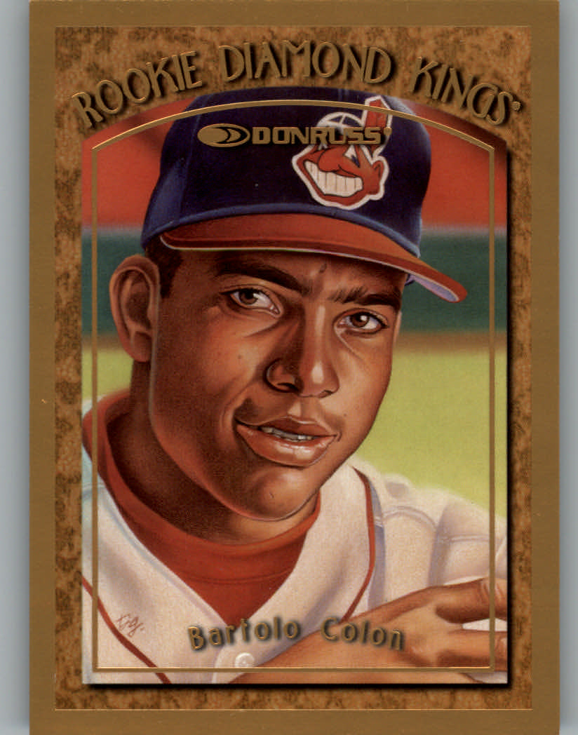 1997 Donruss Rookie Diamond Kings #5 Bartolo Colon