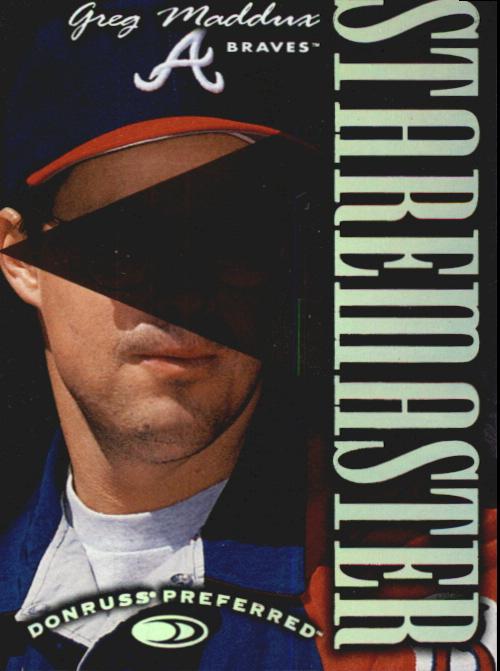 1997 Donruss Preferred Staremasters #13 Greg Maddux