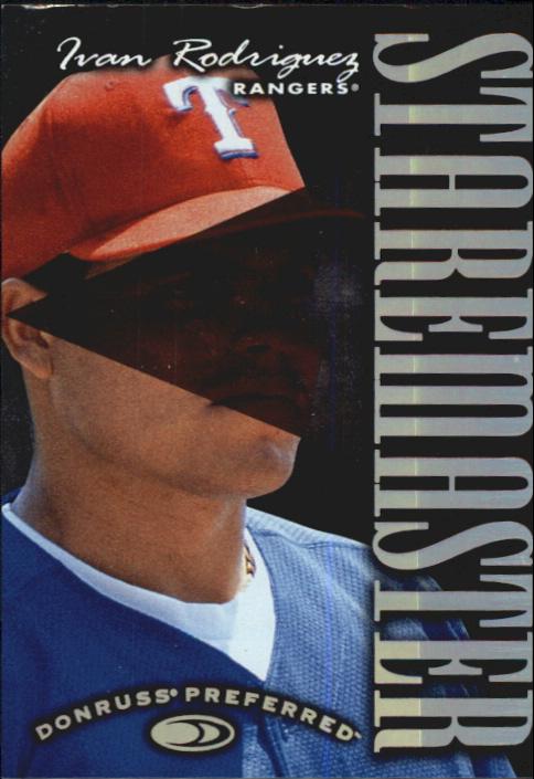 1997 Donruss Preferred Staremasters #20 Ivan Rodriguez