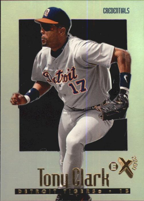 1997 E-X2000 Credentials #20 Tony Clark