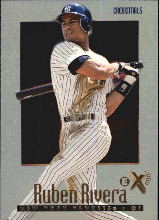 1997 E-X2000 Credentials #35 Ruben Rivera