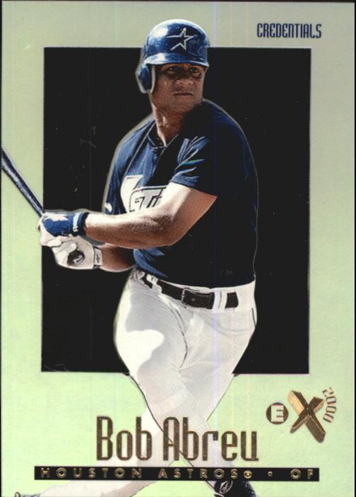 1997 E-X2000 Credentials #75 Bob Abreu