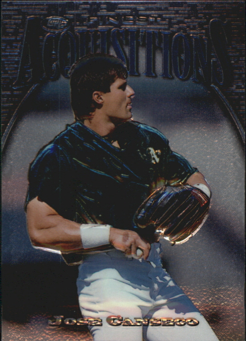1997 Finest Embossed #284 Jose Canseco S