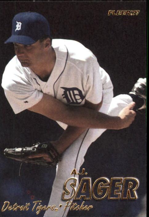 1997 Fleer #105 A.J. Sager