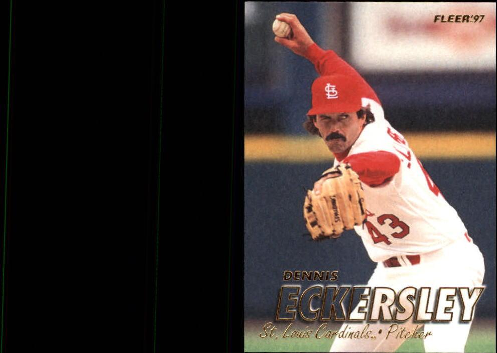 1997 Fleer #441 Dennis Eckersley