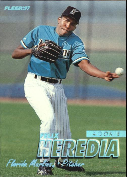 1997 Fleer Tiffany #622 Felix Heredia