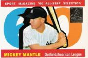1997 Topps Mantle #29 Mickey Mantle/1960 Topps AS back image