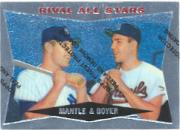 1997 Topps Mantle Finest #28 Mickey Mantle