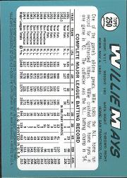 1997 Topps Mays Finest #19 Willie Mays back image