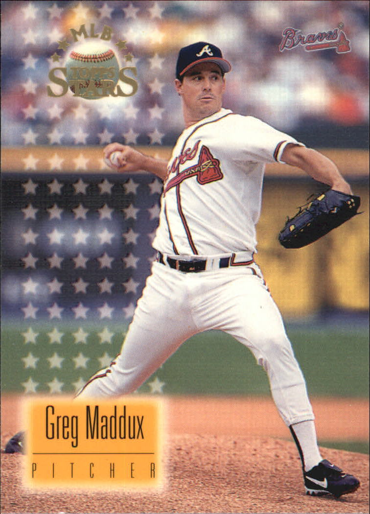 1997 Topps Stars #17 Greg Maddux