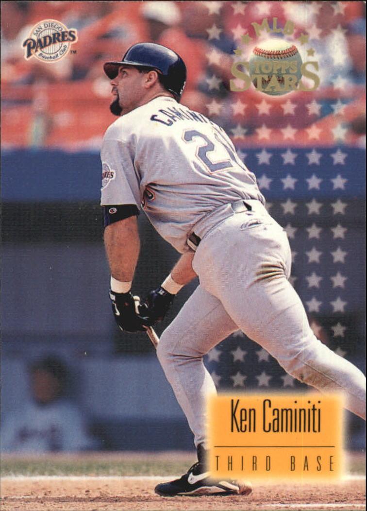 1997 Topps Stars #28 Ken Caminiti