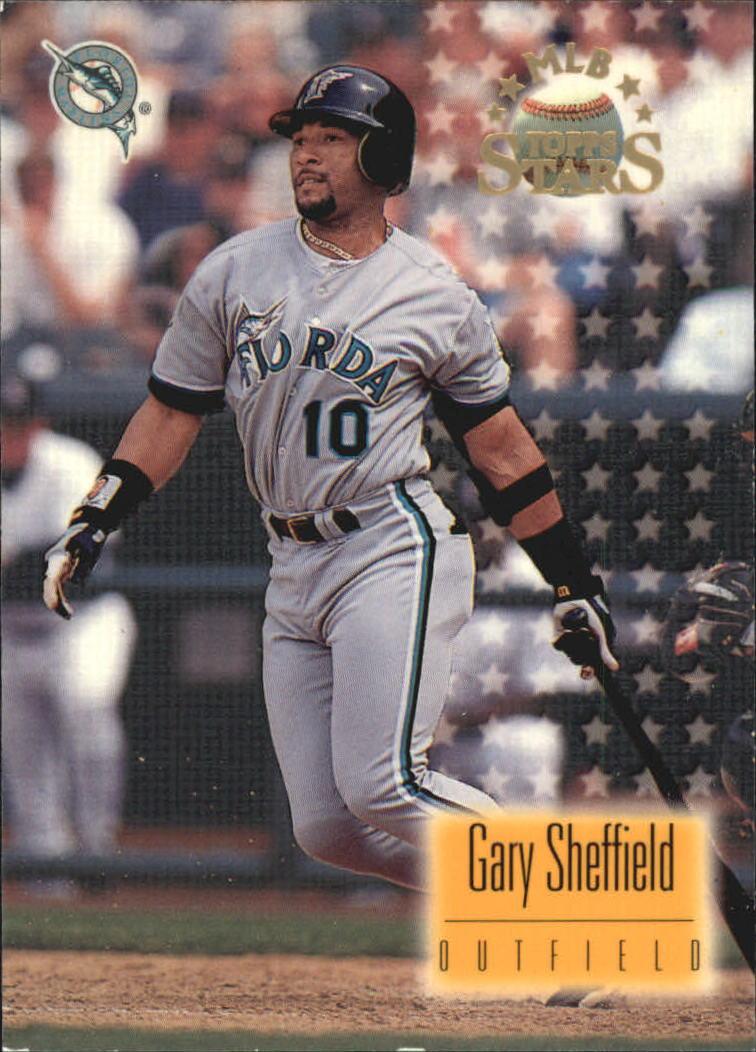 1997 Topps Stars #53 Gary Sheffield