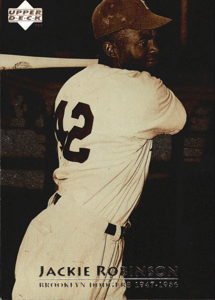 1997 Upper Deck #3 Jackie Robinson