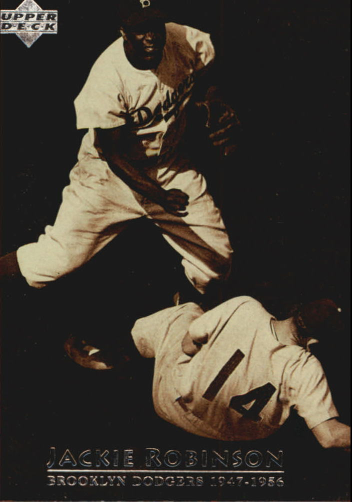 1997 Upper Deck #4 Jackie Robinson