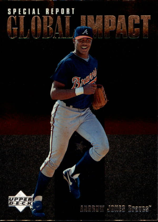 1997 Upper Deck #196 Andruw Jones GI