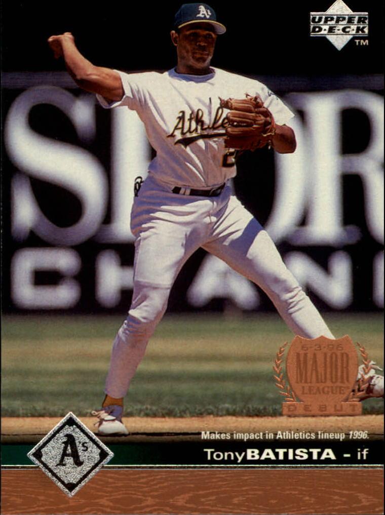 1997 Upper Deck #447 Tony Batista