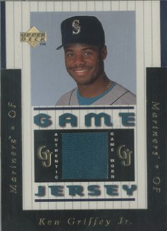 1997 Upper Deck Game Jersey #GJ1 Ken Griffey Jr.