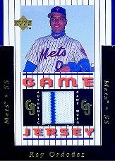 1997 Upper Deck Game Jersey #GJ3 Rey Ordonez
