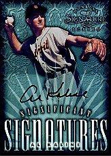 1998 Donruss Signature Significant Signatures #5 Al Kaline/2000
