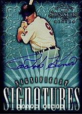 1998 Donruss Signature Significant Signatures #7 Ralph Kiner/2000