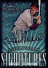 1998 Donruss Signature Significant Signatures #12 Stan Musial/2000