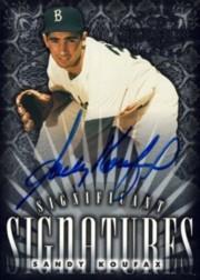 1998 Donruss Signature Significant Signatures #NNO S.Koufax Brooklyn/2000